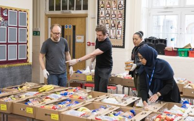 Our Free School Meal Hampers Continue Over Summer