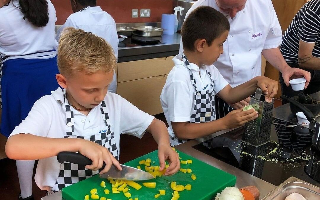 Development Chefs for the Day with Tastily